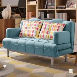 【Hampton 漢汀堡】葛瑞絲沙發床(沙發/休閒沙發/椅子/沙發床/椅背5段式可調)