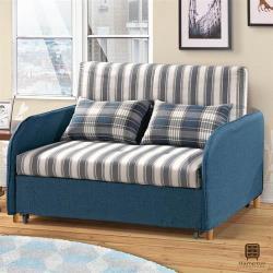 【Hampton 漢汀堡】納迪亞沙發床(沙發/休閒沙發/椅子/沙發床/椅背6段式可調)