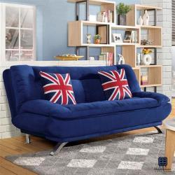【Hampton 漢汀堡】哈洛斯沙發床(沙發/休閒沙發/椅子/沙發床/椅背3段式可調)