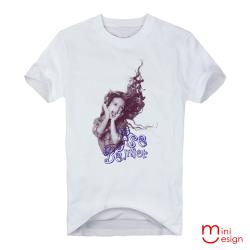 Minidesign-吶喊的女孩潮流設計短T 五色