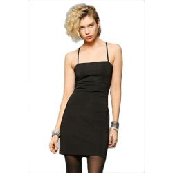olina_美國潮牌Urban Outfitters 微彈性細肩帶S曲線小洋裝 S/2色任選 現貨