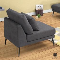 【Hampton 漢汀堡】查克單人椅(沙發/休閒沙發/椅子)