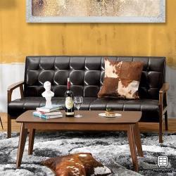 【Hampton 漢汀堡】弗格斯休閒沙發三人椅(沙發/休閒沙發/椅子)