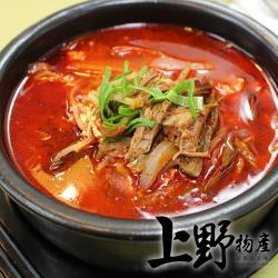 【上野物產】淮南獨門紅燒牛肉湯  (450g±10%/包 固形物60g) x6包