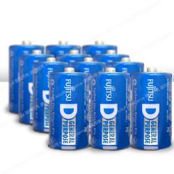 Fujitsu富士通 碳鋅1號電池(12顆入) R20 F-GP