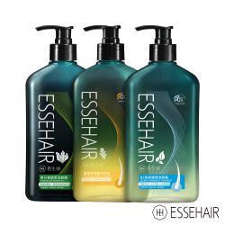 ESSEHAIR 易生絲-B5角質調理洗髮露+原汁森眉草洗髮精+薑暖胺基酸洗髮露