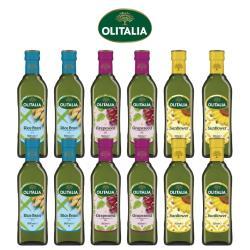 奧利塔玄米油500毫升*4罐+奧利塔葡萄籽油500毫升*4罐+奧利塔頂級葵花油500毫升*4罐