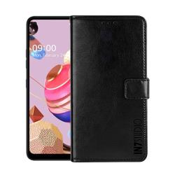 IN7 瘋馬紋 LG K51s (6.55吋) 錢包式 磁扣側掀PU皮套 吊飾孔 手機皮套保護殼
