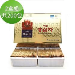 【韓國高麗】養生紅蔘茶包100包(2盒組;共200包)