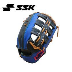 SSK KPG250 SERIES 棒壘手套(藍紅標) 黑/寶藍 KPG250-9063G