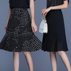 麗質達人 - 2697魚尾半身裙-二色