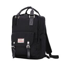 【Heine 海恩】WIN-191P 加大版後背包 電腦後背包 尼龍包 防盜防潑水背包 旅行包 大容量包包 收納款背包 流行女包-黑色