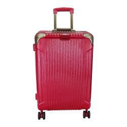 (福利品 25吋)  經典系列TSA鎖PC鋁框箱/行李箱 (魅惑紅)