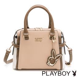 【PLAYBOY】手提包附長背帶  韶光系列