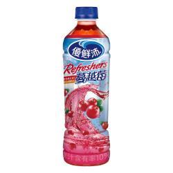 【優鮮沛】蔓越莓綜合果汁500ml(24入)