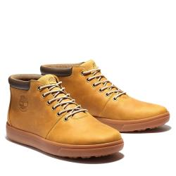 Timberland 男款小麥色全粒面皮革4吋鞋A2DSC231