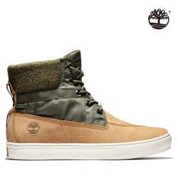 Timberland 男款小麥色拼接磨砂革6吋休閒靴A2EG8231