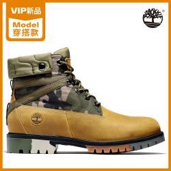 Timberland 男款小麥色迷彩全粒面皮革6吋靴A29NX231