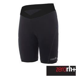 ZeroRH+義大利 PISTA 女仕專業自行車褲-18公分 (黑色) ECD0657_R90