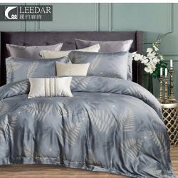 LEEDAR 麗的  驪歌 頂級雙人100%天絲TENCEL六件式兩用被床罩組高度35公分