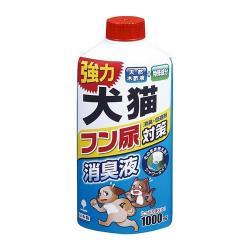 日本製 貓狗屎尿除臭劑1000ml