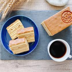 【微笑天使】微笑蜂蜜蛋糕1入(200±5%公克)