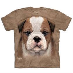 摩達客 自然純棉系列  小鬥牛犬 T恤