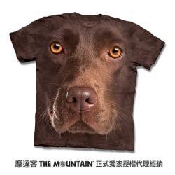 摩達客 自然純棉系列   棕拉不拉多犬臉 T恤