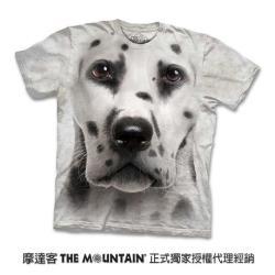 摩達客 自然純棉系列   大麥町犬臉 T恤