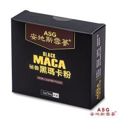 安地斯雪蔘 秘魯頂級黑瑪卡粉 MACA (2公克x30包)X1盒