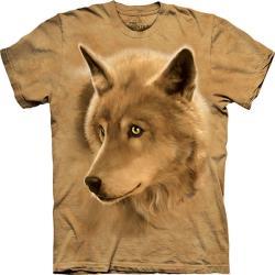 摩達客 自然純棉系列 金狼眼 黃色T恤