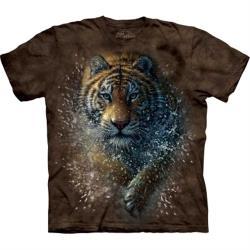 摩達客 自然純棉系列 濕棕虎 T恤