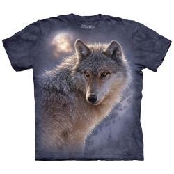 【摩達客】美國進口The Mountain 冒險狼 純棉環保短袖T恤