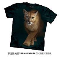 【摩達客】(大尺碼3XL)美國進口The Mountain  狩獵獅 純棉環保短袖T恤