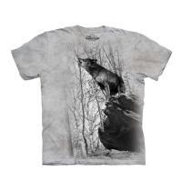 【摩達客】(大尺碼5XL)美國進口The Mountain 咆哮狼 純棉環保短袖T恤