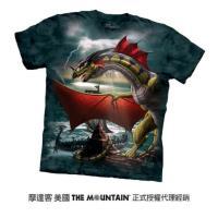 【摩達客】美國進口The Mountain 展翅蛇皮龍 純棉環保短袖T恤