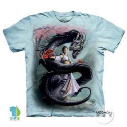 【摩達客】美國進口The Mountain 龍舞者 純棉環保短袖T恤