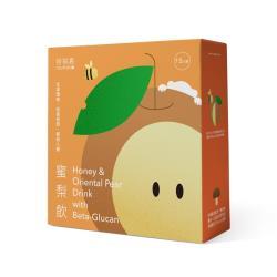 【啓祺嘉】蜜梨飲 荔枝蜜水梨白木耳多醣體 15包/盒