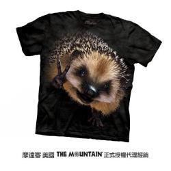 【摩達客】美國進口The Mountain 和平刺猬 純棉環保短袖T恤
