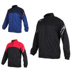 MIZUNO 男針織運動外套-立領外套 慢跑 路跑 美津濃 抗UV 吸汗速乾