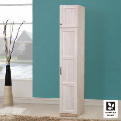【臥室自由配】【多瓦娜】鄉村茉莉1.5尺右門衣櫃(含被櫃)