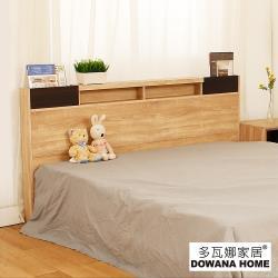 【臥室自由配】【多瓦娜】迪克雙色6尺床頭片(附插座)