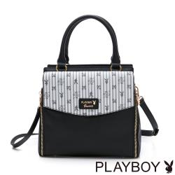【PLAYBOY】手提包附長背帶  龐克兔系列