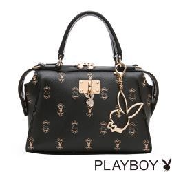 【PLAYBOY】手提包附長背帶  Choco Bunny 巧克兔兔