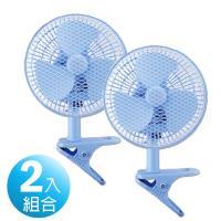 2入組↘華冠 台灣製造 8吋輕巧桌夾扇風扇BT-807A