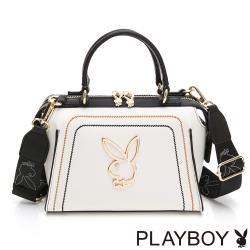 【PLAYBOY】手提包附長背帶  樂遊時尚系列