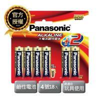 Panasonic國際牌 ALKALINE 鹼性 4號18入吊卡裝