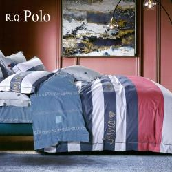 R.Q.POLO  100%精梳棉 四件式薄被套床包組 青春物語(雙人)