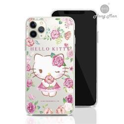 【Hong Man X Sanrio】 iPhone 11 Pro Max 6.5吋 手機殼套裝組 凱蒂貓 ROSE KITTY