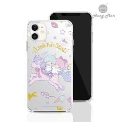 【Hong Man】三麗鷗系列  iPhone 11 6.1吋 手機殼套裝組 雙子星 獨角獸樂園